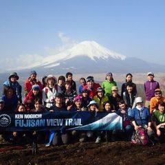 開催:2/19(日)第3回「野口健と歩く富士山ビュートレイル」