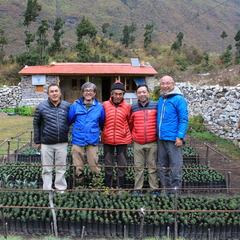 ネパール サマ村「ヒマラヤに森を作ろうプロジェクト」報告書