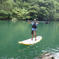 奥多摩での自然観察トレッキング&SUPツアー