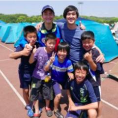 熊本地震支援、藤巻亮太さんがテント村に来てくれました。