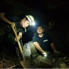 再び沖縄で遺骨収集