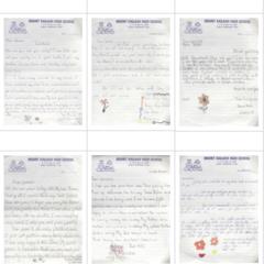 2004年子供達の手紙