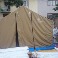 カトマンズにテントが届きました。