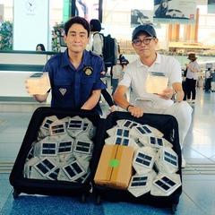 北海道地震支援 ソーラーパフ、ご寄付いただきました。