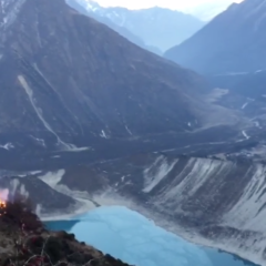 サマ村で火災発生