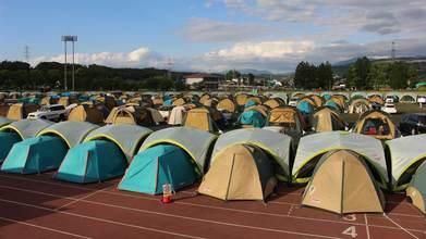 熊本地震支援テント村