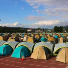お配りしたテントは、必要でしたらお持ちください。