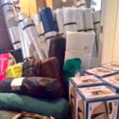 熊本地震支援、皆さまからの支援物資(テント、寝袋など)の支援、一旦、休止のお知らせ