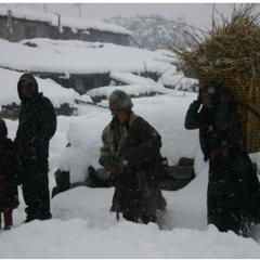 ネパール・サマ村 大雪による緊急支援