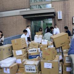 北海道地震支援 支援物資を送りました