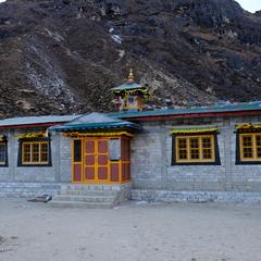 ターメ村のコミュニティホール