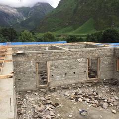 【映像】サマ村の学校、食堂ホールの建設も順調