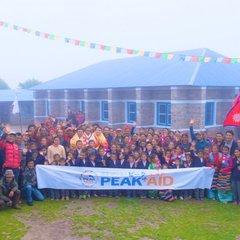 サマ村の学校、キッチンの新しいホールが完成しました。