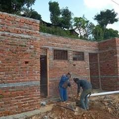 ポカラ小学校 図書館建設